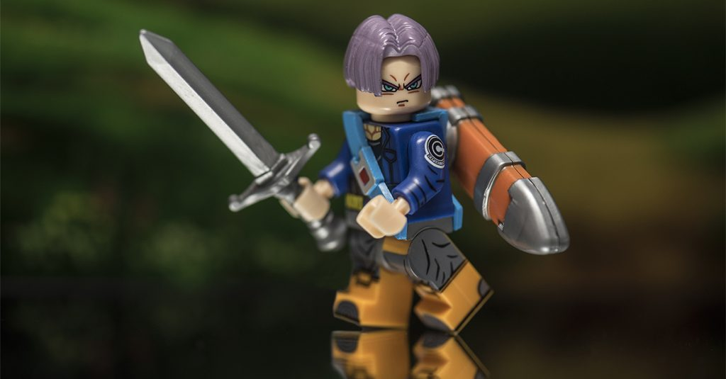 Trunks And His Sword