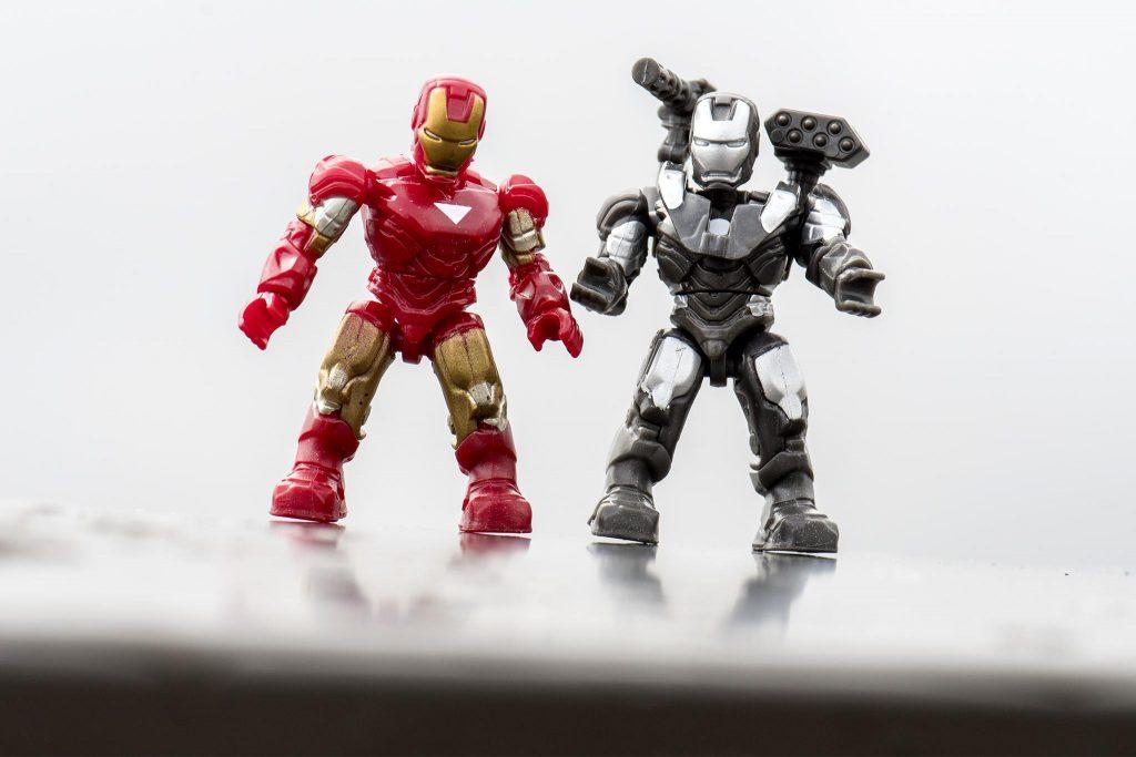 Megaconstrux Iron Man and War Machine