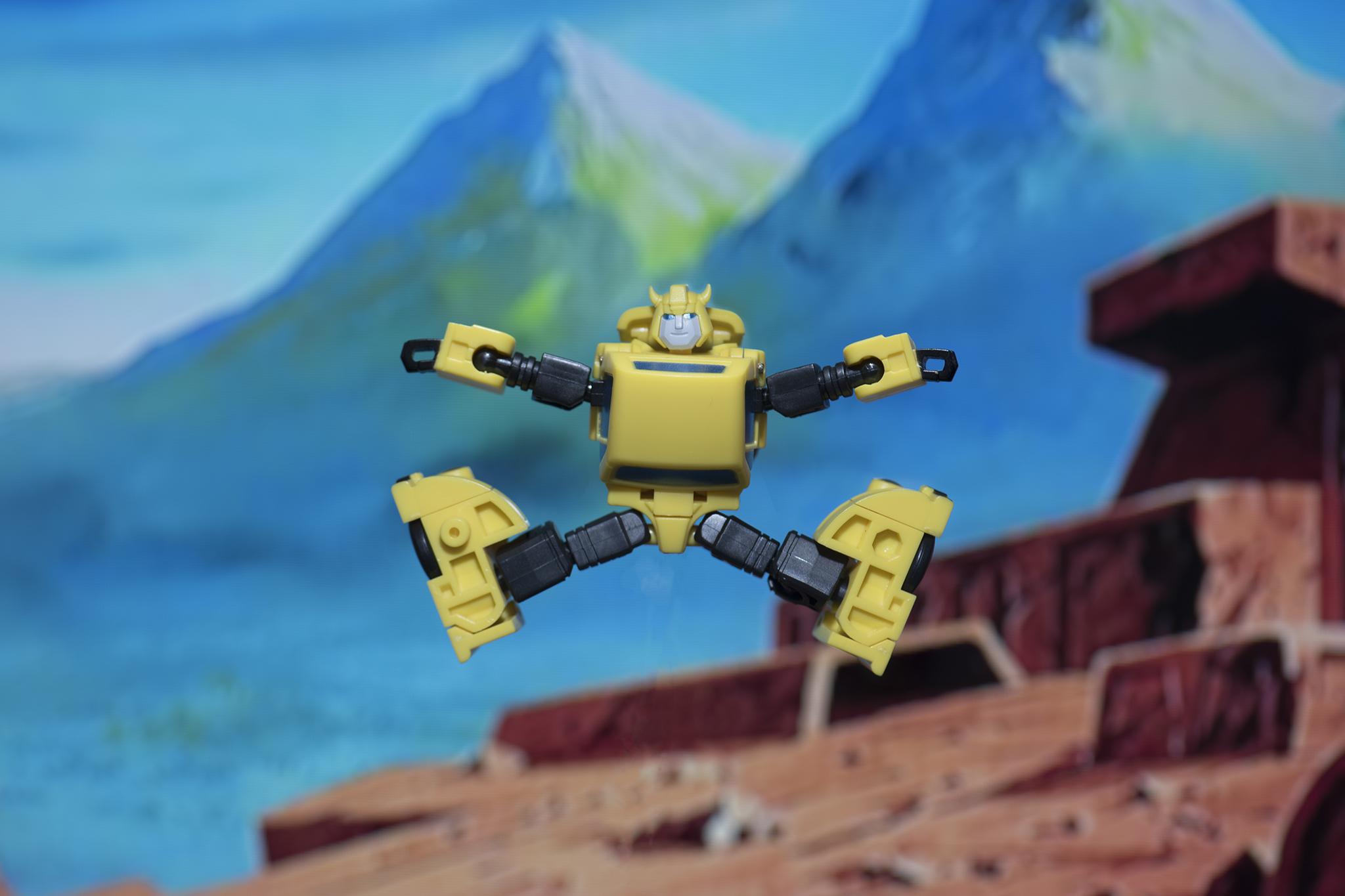 Bumblebee Jumping For Joy